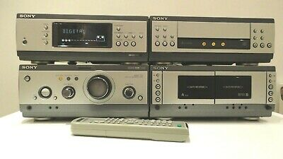 SONY MHC-S3 Dolby Digital Hifi  Amplifier 3 X CD Changer + Tape +Tuner