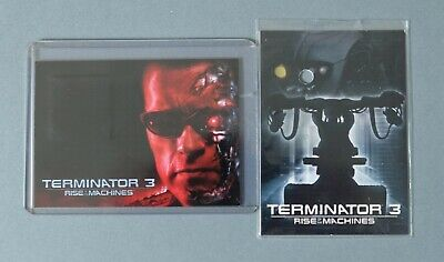 Terminator 3: Rise of the Machines T-WORN TRADING COSTUME CARD WITH REDEMPTION