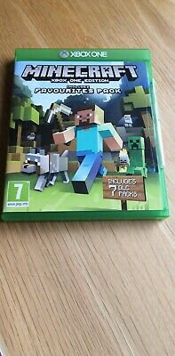 Minecraft (Xbox One Edition) Video Game Includes Favourites 7 DLC Packs