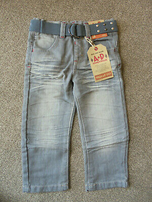 Adams Denim Boys Jeans Age 3 Years Grey BNWT  75/59