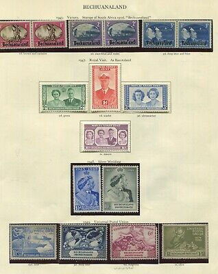 Bechuanaland KGVI collection