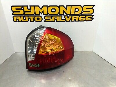 Hyundai Santa Fe 2000-2004 Rear Tail Light Lamp Amber Indicator Drivers Side O//S