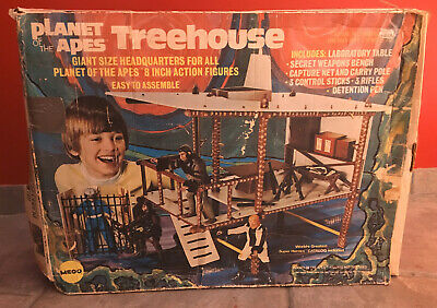 Mego Planet of the Apes Mego 1975 Treehouse with box