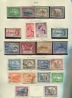 Aden and states KGVI collection