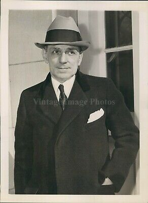 1938 Photo Frank E Speicher NY Salesman US District Court Trial Fund