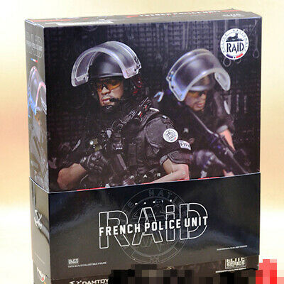 DAMTOYS DAM78061 1//6th French Police Unit Raid in Paris Morale chapter model
