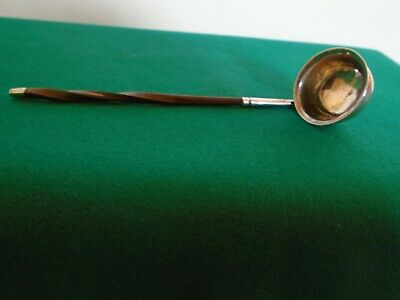 A Rare George111 Antique Solid Silver Toddy Ladle Edward Mayfield .