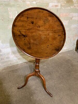 Georgian Mahogany Tilt Top And Click Table . Delivery Available Most Areas