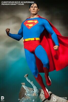 Sideshow Dc Superman Christopher Reeve Premium Format Figure Statue ~New~