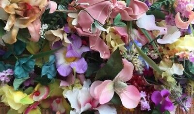 Millinery Flowers:  Large Lot of Vintage and New Styles--Great Value!