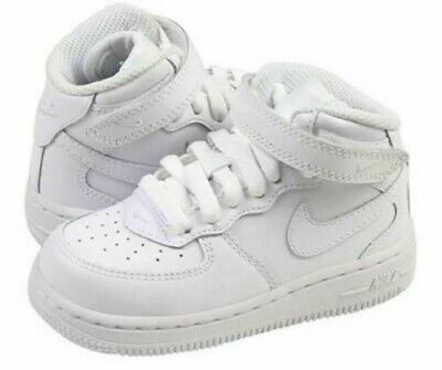 Nike Air Force 1 Mid Triple White 314195 113 Youth Kids