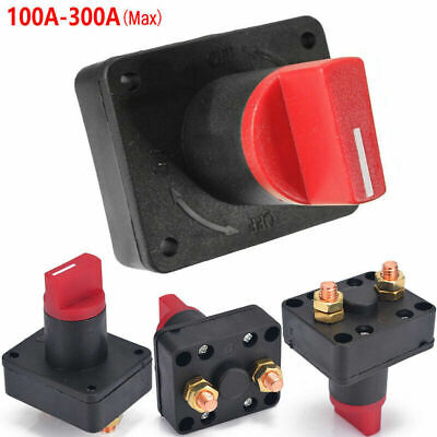 12V Battery Isolator Switch Cut Off Disconnect Terminal Universal Car Boat N2G6L