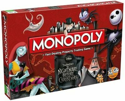 The Nightmare Before Christmas Monopoly Board Game Standard