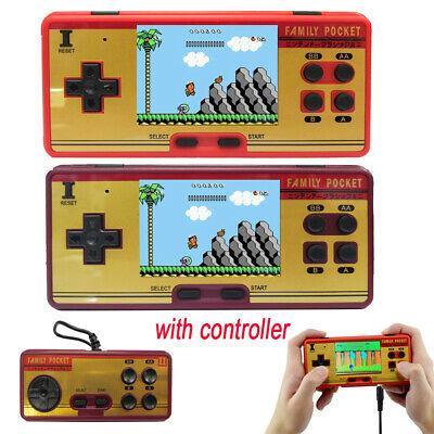 Mini Retro Portable Handheld Game Player Family Pocket Built in 638 Classic Game