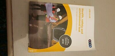 Health, Safety & Environment Test for Managers and Professionals 2018 CSCS - NEW