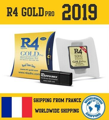 2019 R4 Gold Pro SDHC for DS/3DS/2DS/XL/DSI/2DS