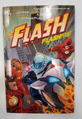 The Flash - THE ROAD TO FLASHPOINT - Hardcover - Geoff Johns - Graphic Novel