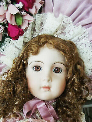 Antique Reproduction Coty Jumeau Andrea Nicole Patricia Loveless Porcelain Doll