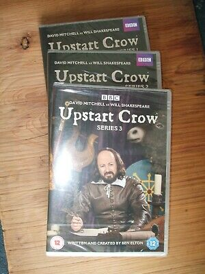 Upstart Crow series 1 2 & 3 New and sealed