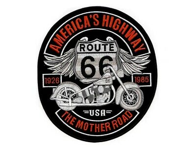 Patch écusson Aigle route 66 GF blouson cuir moto custom motard choppers
