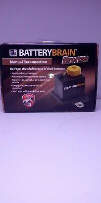 Battery Brain Bronze Manual Reconnection Battery Protection Monitor
