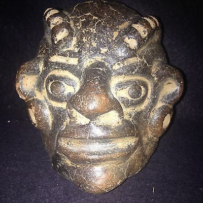 Pre Columbian Head Figure Replica Colima ??