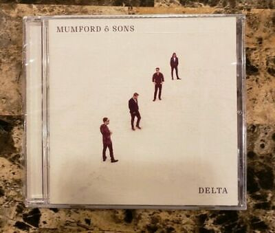 Mumford and Sons - Delta (Audio CD, 2018) NEW Factory Sealed