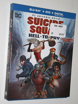 SUICIDE SQUAD Hell To Pay : Bluray + DVD + Slipcover  DC UNIVERSE usa/can