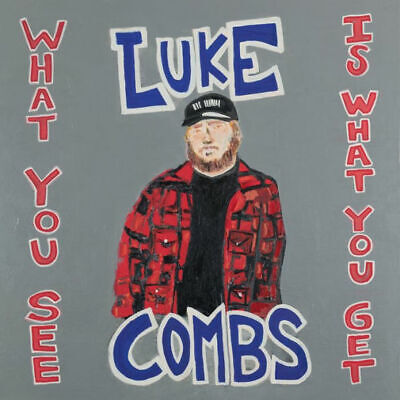 LUKE COMBS What You See Is What You Get CD Pre Order 11/8/2019 Release date