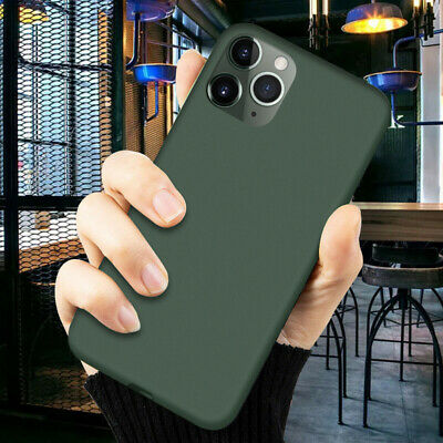 Phone Case For iPhone 11 Pro XS Max XR X 8 7 6s Plus Liquid Silicone Soft Cover