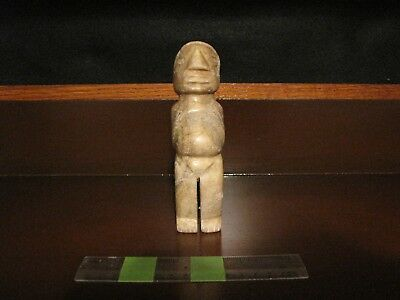 Pre Columbian, Stone, Costa Rican, Authentic Choice Figure, Pendant, +600 1200