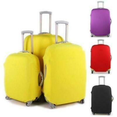 Luggage Protector Elastic Suitcase Cover Bags Dustproof Anti Scratch 4Colors FW