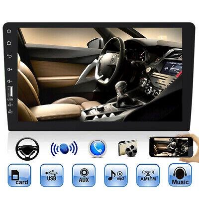 """Single 1 Din 9"""" Car FM MP5 Player Touch Screen Stereo Radio Mirror Link IOS 000"""