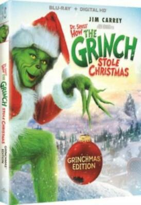 DR SEUSS HOW THE GRINCH STOLE CHRISTMAS: GRI (Region A BluRay,US Import,sealed.)