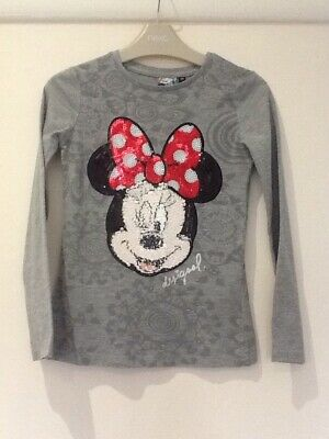 Desigual Mimi Mouse Sequinned Top Age 7-8