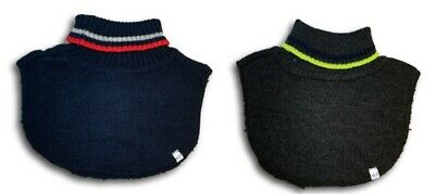 Boys Toddler Autumn Winter Warm Knitted  Scarf Snood Neck Warmer Size M Navy