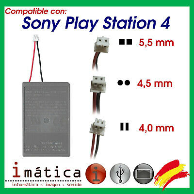 BATERIA DE REPUESTO PARA MANDO PS4 LIP1522 3.7Wh 1000 mAh LI-ION PLAYSTATION 4