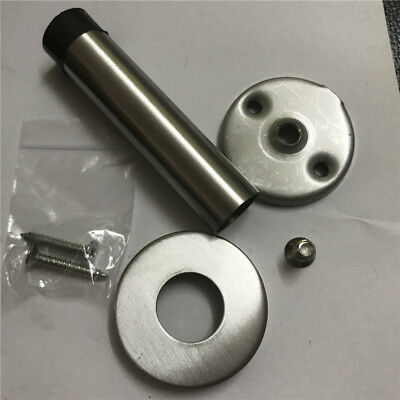 Polished Finish A28102P Stainless Steel Wall Mounted Door Stop on Rose