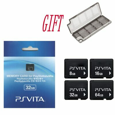 Memory Card Original For PS Vita PSV 1000 2000 4G 8G 16G 32GB 64GB With Gift BOX