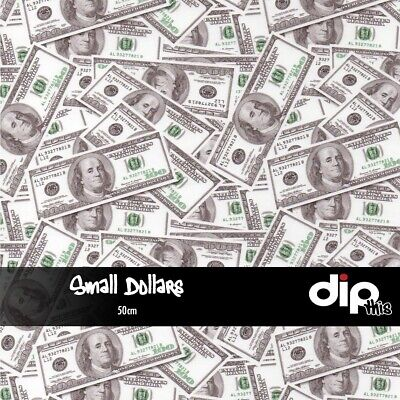 Small Dollars - Hydrographics Film 50cm - Hydro Dipping FOLDED