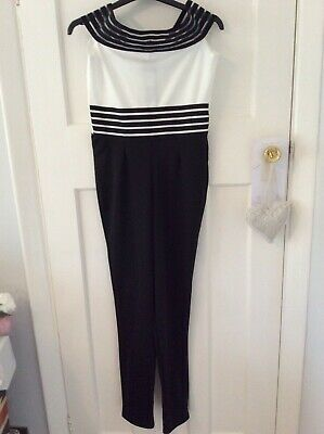 Ladies Jumpsuit By I-X Of London Size 10 Brand New With Tags