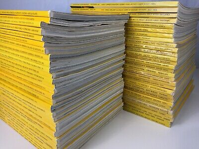 10 National Geographic Magazines Lot Random Pick 1960s - 1990s No duplicates