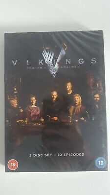 Vikings: Season 4 - Volume 1 (2016) DVD Brand New And Sealed Genuine UK Release