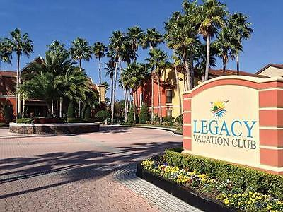 Legacy Vacation Club 7-Night 2 Bed Deluxe Rental Sep 26-Oct 3 2020  Disney World