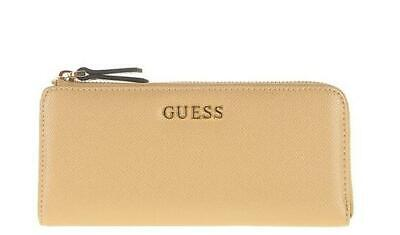PORTAFOGLIO DONNA GUESS isabeau zip it up wallet Taupe