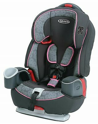 Graco Baby Nautilus 65 3-in-1 Harness Booster Car Seat - Sylvia (minor box wear)