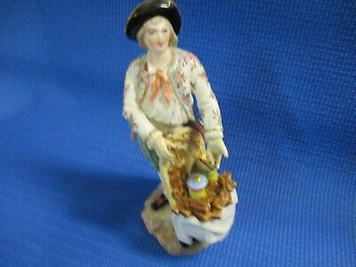 Antique Meissen, German Porcelain Figurine