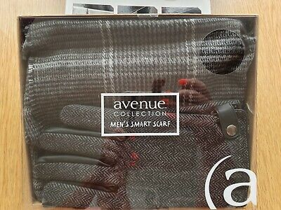 Mens Smart Scarf Boxed Stripe Avenue Collection