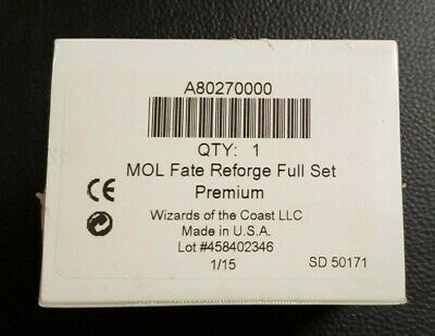 MTG Magic the Gathering Fate Reforged Foil Premium Complete Set Factory Sealed