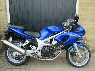 2001 Suzuki Sv650S Sv 650 Sv650 Blue Low Mileage Nationwide Delivery Available